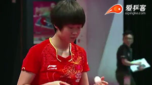 刘炜珊VS长崎美柚 2017香港青少年公开赛 女单U18决赛视频