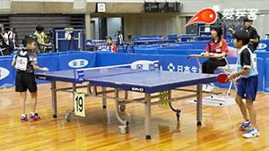 松岛辉空VS田畑雄飞 2018日本全国中小学生乒乓球锦标赛 男单决赛视频