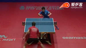张本智和VS萨姆索洛夫 保加利亚公开赛 男单1/4决赛视频