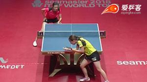 丁宁VS石川佳纯 保加利亚公开赛 女单1/4决赛三分6合视频