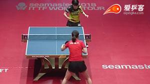 刘高阳VS平野美宇 保加利亚公开赛 女单1/4决赛视频