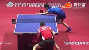 弗雷塔斯VS张本智和 捷克公开赛 男单半决赛视频