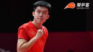 王楚钦VS张宇镇 亚运会乒乓球比赛 男团决赛第三场视频