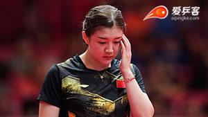 陈梦VS车孝心 亚运会乒乓球比赛 女团决赛第二场视频