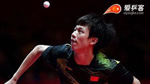林高远VS阿拉米扬 亚运会乒乓球比赛 男单半决赛视频