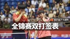 全锦赛双打:亚运混双亮相,全运女双冠亚军再聚首