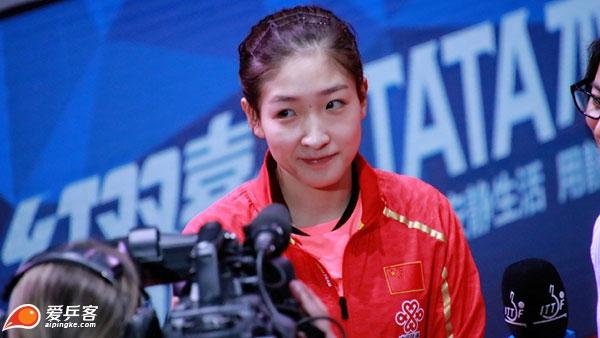 刘诗雯:乒乓球是最不可割舍的,冠军重要也不重要