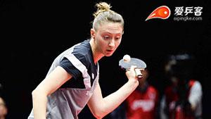 朱雨玲VS波尔卡诺娃 女子世界杯赛 女单1/4决赛视频