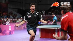卡纳克VS林昀儒 2018青奥会乒乓球赛 男单季军赛视频
