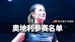 国乒28人报名奥地利公开赛,丁宁樊振东配对混双