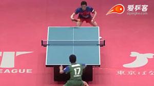 张本智和VS黄镇廷 2018T联赛 男团第一阶段视频