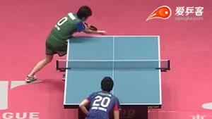 郑荣植VS水谷隼 2018T联赛 男团第一阶段视频