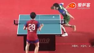 松平健太VS丹羽孝希 2018T联赛 男团第一阶段视频