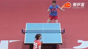 浜本由惟VS松平志穂 2018T联赛 女团第一阶段视频
