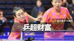 特评:冯天薇是乒超财富!坚韧性格值得女乒后辈们学习