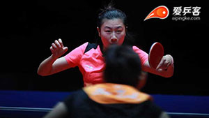 何卓佳VS丁宁 2018年终总决赛 女单半决赛视频