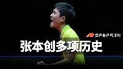 """张本智和手握9项""""最年轻""""纪录!下一站瞄准世锦赛"""
