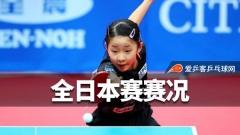 全日本赛 | 石川佳纯无缘混双八强,张本美和单打闯关