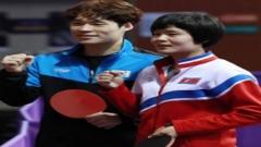 朝鲜提交世乒赛参赛名单 张宇镇车孝芯有望再度联手出征