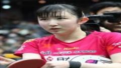 早田希娜对乒乓球的喜爱 放弃各种可能