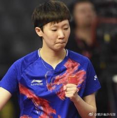 王曼昱谈世乒赛:第一次没什么经验 目标不言而喻