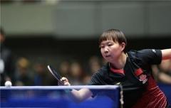 朱雨玲有邱指导技术提升快  目标世乒赛女双冠军