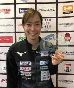 你最喜爱的外国乒乓球女选手,是不是她?