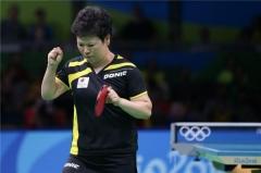 56岁倪夏莲再战世乒赛  享受乒乓球的快乐!