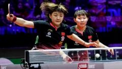 中日包揽女双四强  半决赛上演两场德比战