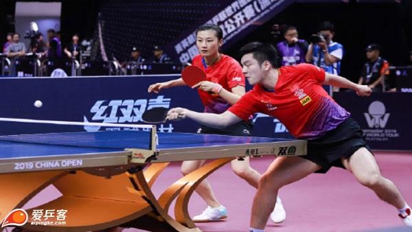 爆冷!混双资格赛樊振东丁宁0-3遭横扫