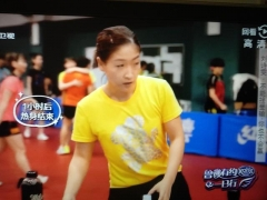刘诗雯用命搏东奥女单金牌 马琳:以奥运会标准要求