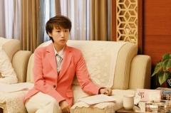 奥运冠军郭跃青海海东乐都公益行 暖心助力扶贫