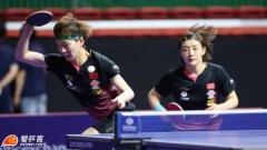 澳乒赛陈梦/王曼昱3-1韩国组合 背靠背夺女双冠军