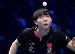 T2钻石赛朱雨玲4-1王曼昱 夺得女单冠军