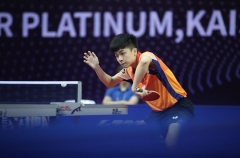 张继科的教练指导天才林昀儒 他比张本更会成为国乒威胁