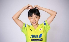 乒球少儿对抗中日平分秋色 张本美和U11-U12夺冠