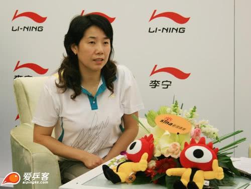 """中国乒球史最著名的""""女二号"""" 甘当绿叶的乔红"""