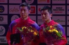 瑞典赛许昕樊振东3-2逆转夺冠 中国队包揽冠亚军