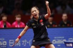 刘诗雯朱雨玲领衔世界杯 状态回升将是夺冠关键