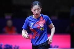 女乒世界杯朱雨玲4-0横扫德国名将 携手刘诗雯晋级四强