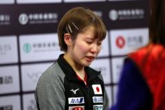 石川锁定奥运席位,平野美宇落败气得直哭