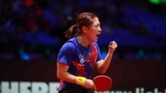 刘诗雯:东京奥运会是重要目标 退役后的事不考虑