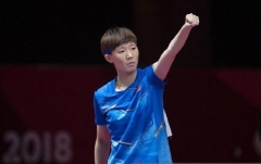 国乒小魔王12岁立志成世界冠军!崇拜邓亚萍