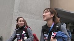 石川佳纯姐妹都是左手,曾誓言1起战东奥如今是姐姐陪练