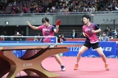 全日本乒乓球锦标赛 长崎美柚/木原美悠遭逆转