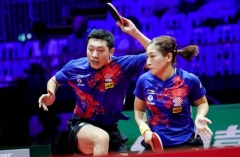 德国赛国乒夺得女双混双冠军 韩国队男双爆冷夺冠