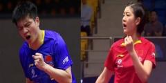 国乒四冠一亚拿得惊险 两将单打奥运资格稳了?