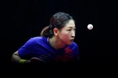 刘诗雯:我的成绩在国乒很普通 大满贯得主非常多