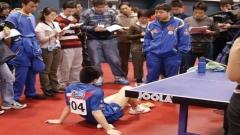 马龙的世乒赛青涩记忆!扭伤脚却被刘国梁严厉批评