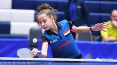 12岁拿下队史首个世界第一 埃及12岁乒乓少女很牛